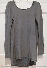 Carin Wester Striped Dress Cape Cocoon Mini Body Con Knit Avant Garde Hi Lo Sz S