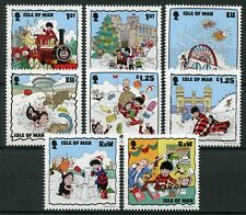 Isle of Man IOM 2018 MNH Beano Christmas Dennis Menace 8v Set Comics Stamps