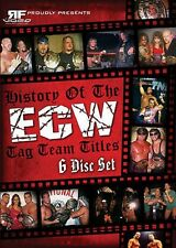 History of the ECW Tag Team Titles DVD-R Set, Extreme Wrestling WWE TNA WWF