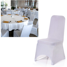 Chair Covers Spandex Stretch Slip Seat Cover Dining Wedding Banquet Party White