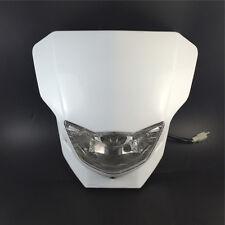Dirt Bike Motorcycle Universal Vision Headlight Street Fighter Headlamp White