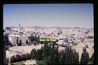 View over Jerusalem, Israel in 1962, Original Slide aa 5-28a