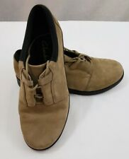 Clarks Womens 7 M Suede Lace Up Oxford Shoes