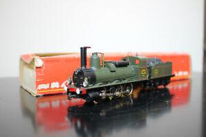 RIVAROSSI Locomotive vapeur PLM 3A25 Bourbonnais Bel état BO Réf 1344 Echelle HO