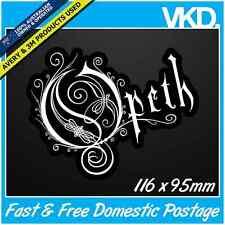 Opeth Sticker/Decal - Band Music Heavy Thrash Metal Hardcore Vinyl Death Laptop