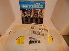 COLLECTORS HISTORY OF Classic Jazz Miles Davis Charlie Parker 5 LP Box Set