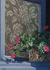 "Evelyne Brigeois, (1946-2016), ""Roses & Impatiens "", Ed of 450, acid-free paper"