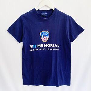 9/11 Memorial 10 Years FDNY New York T-Shirt Mens Small