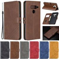 Luxury Wallet Leather Flip Stand Case Cover For LG G8 V50 Stylo 5 K10 2018 G8S