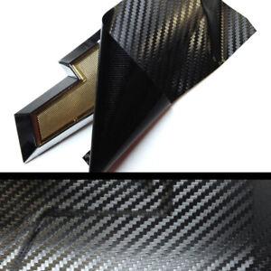 (2) Vinyl Sheets BowTie Grill Emblem Overlay 2020 Chevrolet Silverado 1500★★★★★