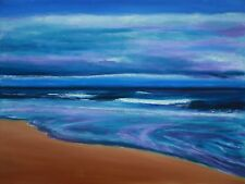 "Original Oil on Canvas ""Time and Tide"" 20 by 24 inches by Ross D Jahnig"