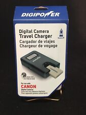 Digipower TC-55C Digital Camera Travel Charger for Canon Batteries