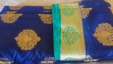 Raw Silk India Bollywood Designer Sari Indian Traditional Ethnic Bridal SILK