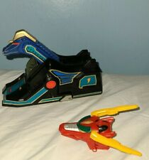 Power Rangers MMPR Thunderzord Blue Unicorn Zord and Red Dragon Head 1994 Bandai