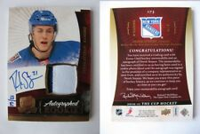 2010-11 UD The CUP #173 Stepan Derek 15/21 RC rookie patch auto GOLD