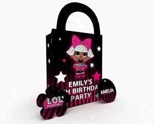 Personalised L O  L Gift Bag, Party Bag, Party Box, Treat Bag/Box