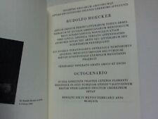 Hoecker, Rudolf: Societas Amicarum Amicorumqe Optimo Eruditissimo Ingenio ...