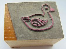 Printing Letterpress Printers Block Duck Or Some Other Bird