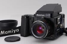 【NEAR MINT+】 Mamiya M645 Super AE Finder w/ Sekor C 80mm F/2.8 from JAPAN #917