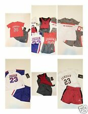 NWT Boys Nike Air Jordan Jersey Shirt Short LOT 18M Outfit Set Clothes NEW Logo