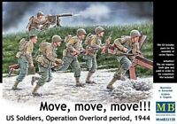 MAS35130  Masterbox 1:35 - US Soldiers, Operation Overlord 'Move, Move, Move!'