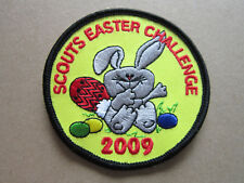 Scouts Easter Challenge 2009 Cloth Patch Badge Boy Scouts Scouting L3K B