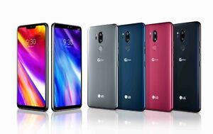 Sim Free LG G7 ThinQ 6.1 Inch 64GB 8MP 4G Mobile Phone mix GRADE
