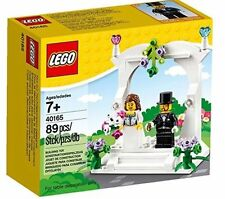 LEGO 40165 NEW Wedding Cake Topper / Table Decoration Favor Set Factory Sealed