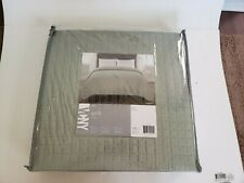 Vcny Full/Queen quilt seafoam green, 1 piece quilt bed spread 86 x 86, polyester