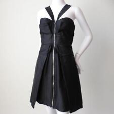 NICOLA FINETTI Size 8 -10 US 4- 6 Silk and Cotton Sheath Dress Made In Australia