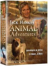 Jack Hanna's Animal Adventures: Adventures in Africa  (DVD 6 disc Box set) NEW