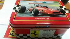 Ferrari V12 F1 1968 1/43 Solido metal box