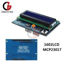 Adjust 1602 LCD Shield 5 keypad IIC I2C MCP23017 Backlight  for Arduino UNO R3
