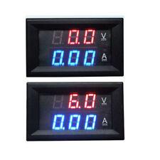100V 500A DC Digital Ammeter Voltmeter LED Amp Volt Meter 12V 24V CAR battery