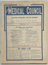 Dec. 1916 Philadelphia Medical Council Journal Medicine Doctors Trade Magazine