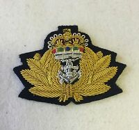 Royal Navy Officers Beret Badge, RN, Army, Regiment, Military, Headwear