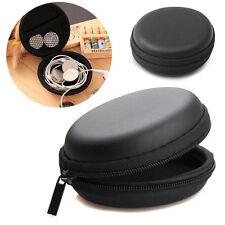 Portable Zipper Storage Bag Case Box For Earphone Headphone Earbud USB SD Card