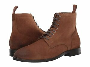 Cole Haan Men Derby Boots Feathercraft Grand Size US 11.5M Dogwood Suede