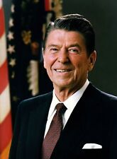 President Ronald Reagan Official PHOTO Portrait Picture