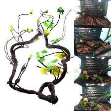 Cage Habitat Animals Gecko Chameleon Artificial Reptile Vine Home Decor