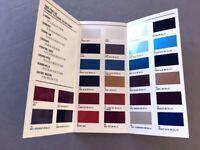1989 Pontiac Color Paint Guide Original Car Sales Brochure - Firebird TransAm