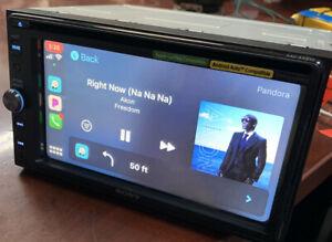 """Sony XAV-AX210 6.4"""" Apple CarPlay Android Auto USB Bluetooth Receiver READ"""