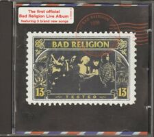 BAD RELIGION Tested NEW CD LIVE 27 track 1997