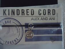 Authentic Alex and Ani ICE SKATE Kindred Pull Cord Bracelet New W/ Box