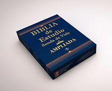 Biblia de Estudio Senda de Vida Ampliada Con Index