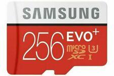 256GB Micro SD Memory Card Samsung Pro Evo Plus Class 10 TF Flash + Adapter