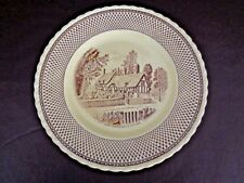 "Myott Son & Co. Shakespeare Land Anne Hathaway's Cottage 10"" Plate (Cat.#3T012)"
