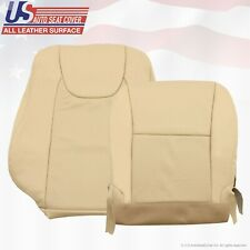 FITS 2010 2011 2012 2013 Lexus RX350 RIGHT TOP-BOTTOM PERF. LEATHER COVER TAN