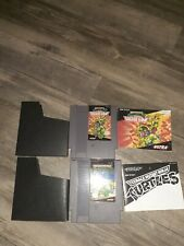 Teenage Mutant Ninja Turtles and Turtles 2: Arcade Game Nes w/ Manuals