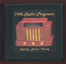YEAR 1942 Radio 8 CD OTR  Jack Benny Fred Allen GI Jive Lux Shadow Lone Ranger +